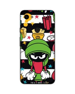 Marvin the Martian Striped Patches Google Pixel 3a Skin