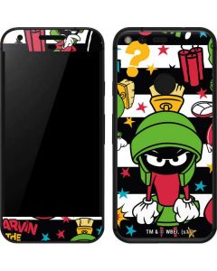 Marvin the Martian Striped Patches Google Pixel Skin