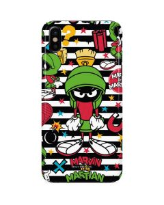 Marvin the Martian Striped Patches iPhone X Lite Case