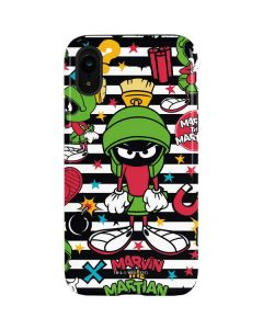 Marvin the Martian Striped Patches iPhone XR Pro Case