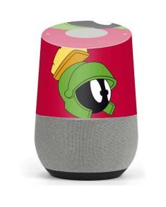 Marvin The Martian Zoomed In Google Home Skin
