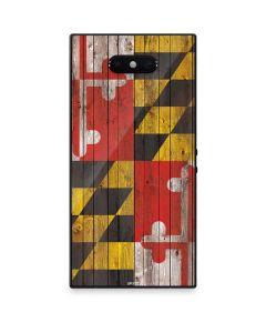 Maryland Flag Dark Wood Razer Phone 2 Skin