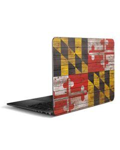 Maryland Flag Dark Wood Zenbook UX305FA 13.3in Skin