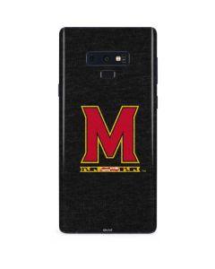 Maryland Logo Galaxy Note 9 Skin