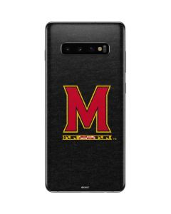 Maryland Logo Galaxy S10 Plus Skin