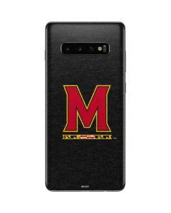 Maryland Logo Galaxy S10 Plus Skin