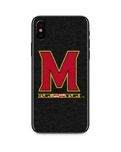 Maryland Logo iPhone X Skin