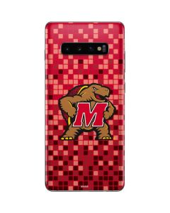Maryland Terrapins Digi Camo Galaxy S10 Plus Skin