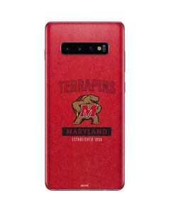 Maryland Terrapins Established 1856 Galaxy S10 Plus Skin