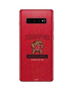 Maryland Terrapins Established 1856 Galaxy S10 Plus Skin