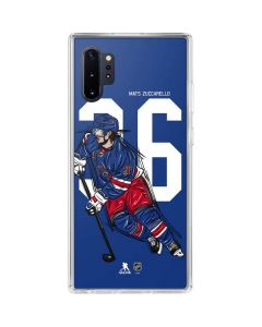 Mats Zuccarello #36 Action Sketch Galaxy Note 10 Plus Clear Case