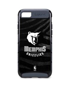 Memphis Grizzlies Black Animal Print iPhone 7 Cargo Case