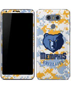 Memphis Grizzlies Digi Camo LG G6 Skin