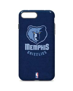 Memphis Grizzlies Distressed iPhone 8 Plus Pro Case