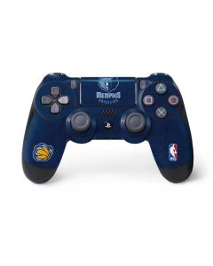 Memphis Grizzlies Distressed PS4 Pro/Slim Controller Skin