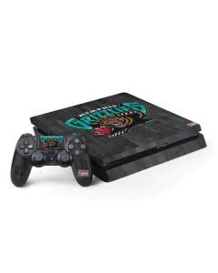 Memphis Grizzlies Hardwood Classics PS4 Slim Bundle Skin