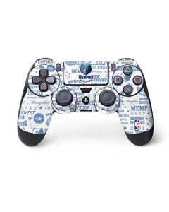 Memphis Grizzlies Historic Blast PS4 Pro/Slim Controller Skin