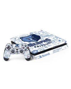 Memphis Grizzlies Historic Blast PS4 Slim Bundle Skin