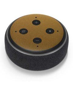 Metallic Gold Texture Amazon Echo Dot Skin