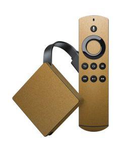 Metallic Gold Texture Amazon Fire TV Skin