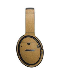 Metallic Gold Texture Bose QuietComfort 35 Headphones Skin
