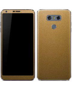 Metallic Gold Texture LG G6 Skin