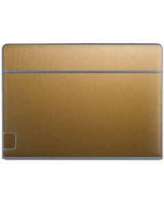 Metallic Gold Texture Galaxy Book Keyboard Folio 10.6in Skin