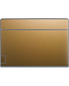 Metallic Gold Texture Galaxy Book Keyboard Folio 12in Skin