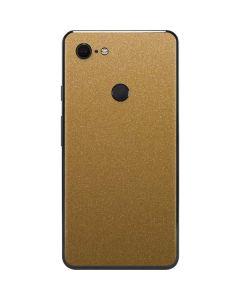 Metallic Gold Texture Google Pixel 3 XL Skin
