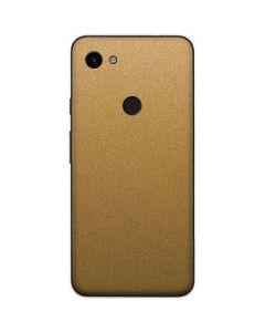 Metallic Gold Texture Google Pixel 3a Skin