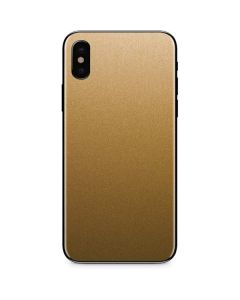 Metallic Gold Texture iPhone XS Max Skin