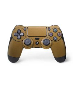 Metallic Gold Texture PS4 Controller Skin