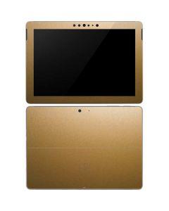 Metallic Gold Texture Surface Go Skin