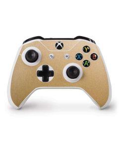 Metallic Gold Texture Xbox One S Controller Skin