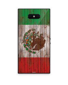Mexican Flag Dark Wood Razer Phone 2 Skin