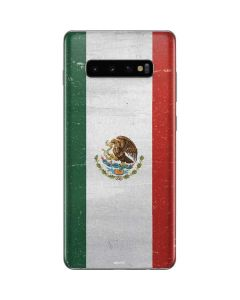 Mexico Flag Distressed Galaxy S10 Plus Skin