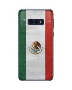 Mexico Flag Distressed Galaxy S10e Skin