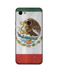 Mexico Flag Distressed Google Pixel 3a Skin