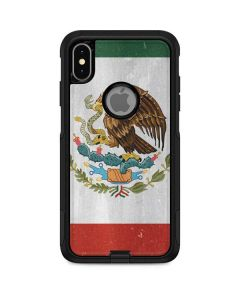 Mexico Flag Distressed Otterbox Commuter iPhone Skin