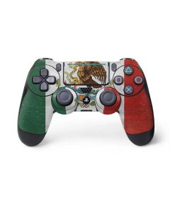 Mexico Flag Distressed PS4 Pro/Slim Controller Skin