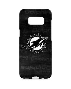 Miami Dolphins Black & White Galaxy S8 Plus Lite Case