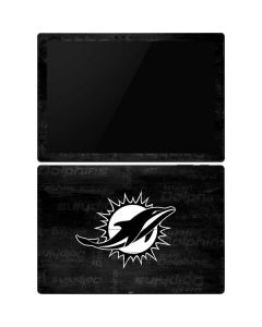 Miami Dolphins Black & White Surface Pro 6 Skin