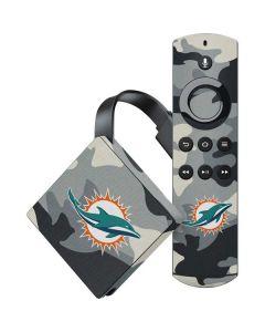 Miami Dolphins Camo Amazon Fire TV Skin