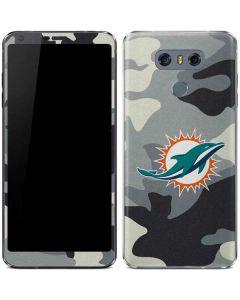 Miami Dolphins Camo LG G6 Skin
