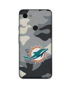 Miami Dolphins Camo Google Pixel 3a Skin