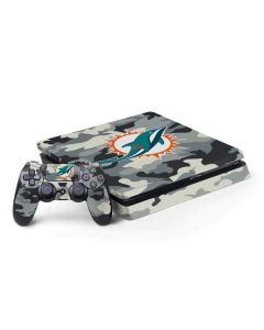 Miami Dolphins Camo PS4 Slim Bundle Skin