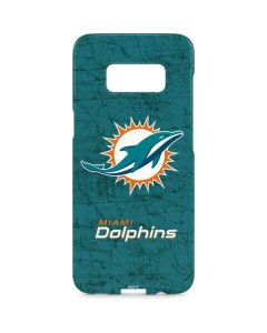 Miami Dolphins Distressed- Aqua Galaxy S8 Plus Lite Case