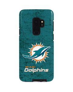 Miami Dolphins Distressed- Aqua Galaxy S9 Plus Pro Case