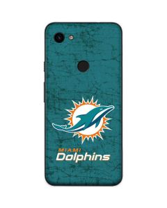 Miami Dolphins Distressed- Aqua Google Pixel 3a Skin