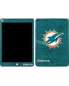 Miami Dolphins Distressed- Aqua  Apple iPad Skin